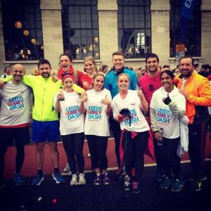 Headingley Harriers at the Abbey Dash 2014