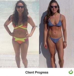 Claudia Transformation front pose