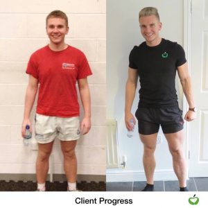 Stephen Taylor Transformation front pose 2 years