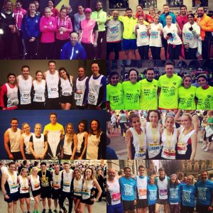 Headingley Harriers at race events in Leeds