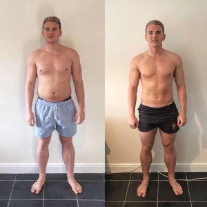 Stephen Taylor Transformation front pose