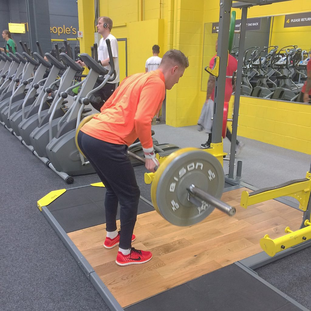 Barbell Row - personal training - CSS Fitness