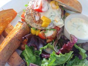 Turkey Burger Meal Option