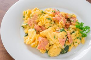 Smoked Salmon And Scrambled Eggs Meal Option