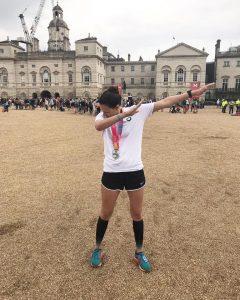 Introduction - Laura London Marathon Pose