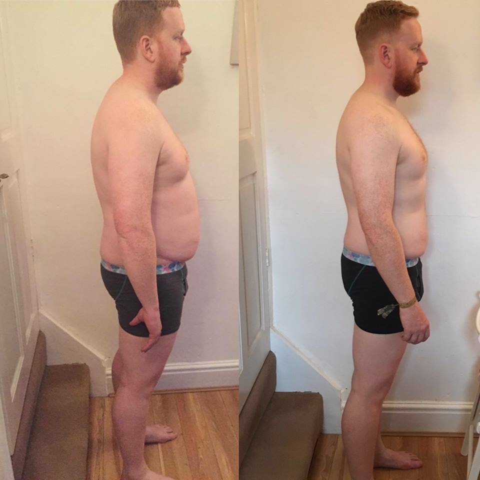 Matthew Williamson Transformation Side pose